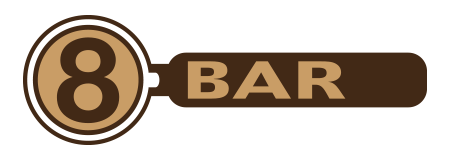 8BAR Logo Kaffeegenuss & Technik