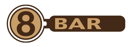8BAR · Café · Event Location · Showroom · Maschinen