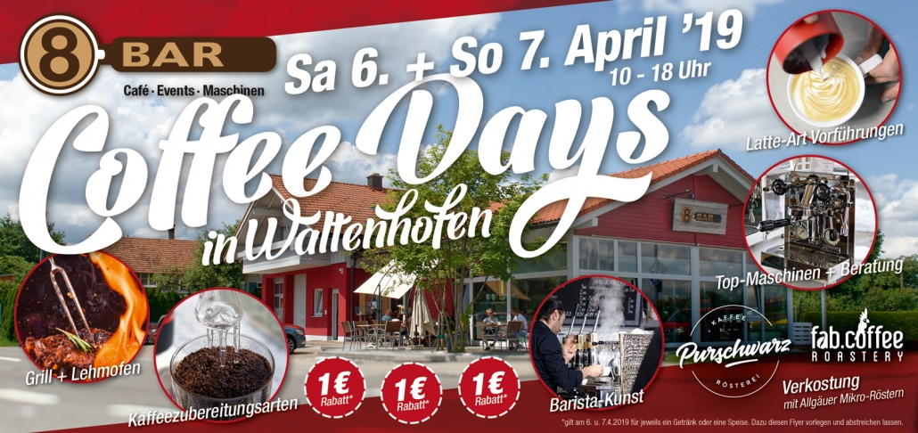 Coffee Days 6. + 7. April Waltenhofen